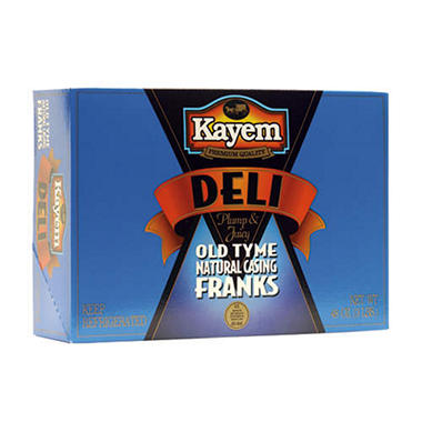 Kayem Deli Plump & Juicy Hot Dogs - 3 lbs.
