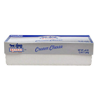 Raskas Cream Cheese Loaf - 3lb