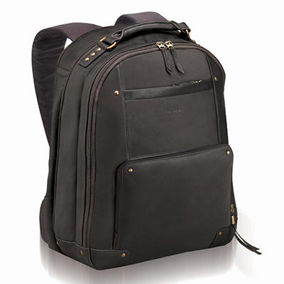 SOLO Vintage Leather Backpack - 15.6""