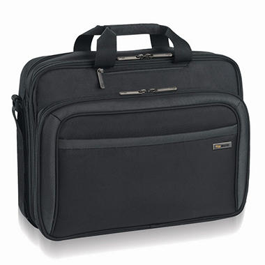 SOLO Sterling CheckFast Briefcase - 17