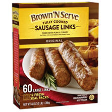 Brown 'N Serve Sausage Links (48 oz., 60 ct.)