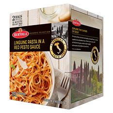 Bertolli Linguine in Red Pesto Sauce (24 oz. bag, 2 ct.)