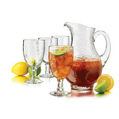 Libbey Yucatan Pitcher & Goblet 5-Piece Set
