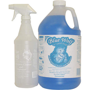 Blue Wolf Cleaner & Degreaser - 128oz