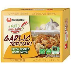 Nongshim Garlic Teriyaki Udon (9.17 oz., 4 pk.)
