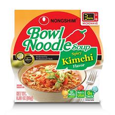 Nongshim Kimchi Bowl Noodle Soup (3.03 oz., 18 ct.)