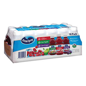Ocean Spray? Juice Beverage Variety Pack - 18/10 oz.