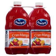 Ocean Spray Cran Mango Juice Drink (64 fl. oz. bottles, 2 ct.)