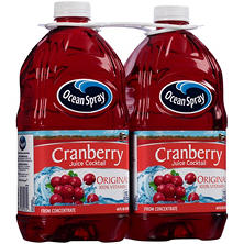 Ocean Spray Original Cranberry Juice Cocktail (64 fl. oz., 2 pk.)