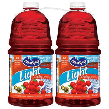 Ocean Spray Light Cranberry - 2/96 oz.