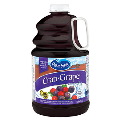 Ocean Spray CranGrape Juice - 128 ozs.