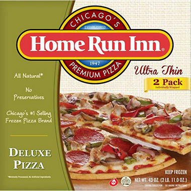 Home Run Inn Ultra Thin Deluxe Pizza - 21.5 oz. - 2 ct.