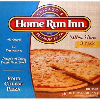 Home Run Inn Ultra Thin Four Cheese Pizza - 16.5 oz. - 3 ct.