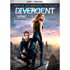 Divergent (DVD + Digital)