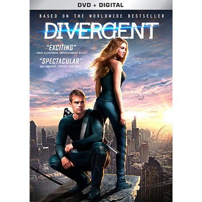 Divergent (DVD + Digital)