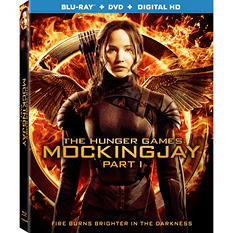 Hunger Games: Mockingjay Part 1 [Blu-ray + DVD + Digital]