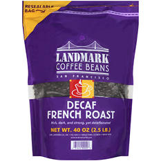 Landmark Decaf or Flavored Wholebean -  2.5LB