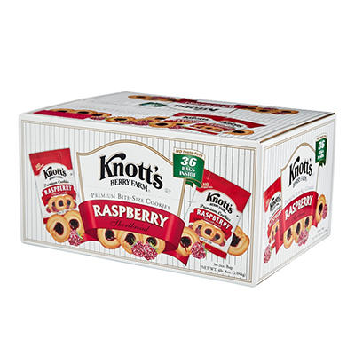Knott's Berry Farm® Raspberry Shortbread - 2 oz. - 36 pkgs.