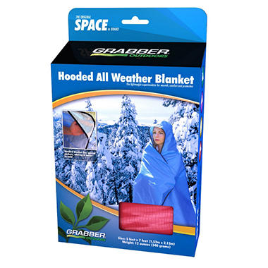 Hooded All Weather Blanket - Red