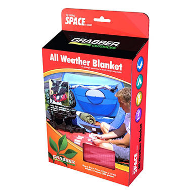 SPACE All Weather Blanket - Red