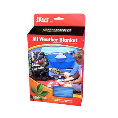 SPACE All Weather Blanket - Blue