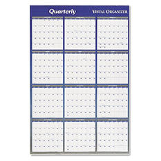 "AT-A-GLANCE Vertical/Horizontal Erasable Wall Planner, 48"" x 32"" -  2015"