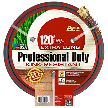 Apex® Powerflo® IV Commercial Garden Hose  - 120'