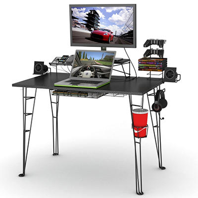 Gaming Desk - Black