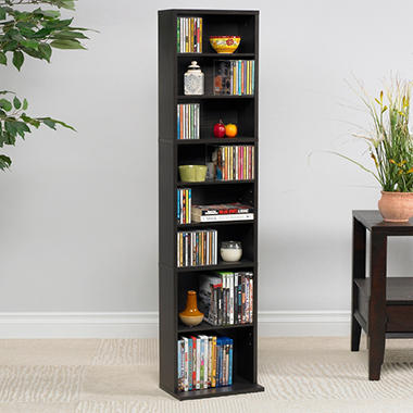 Atlantic Summit 261 CD Media Cabinet Espresso