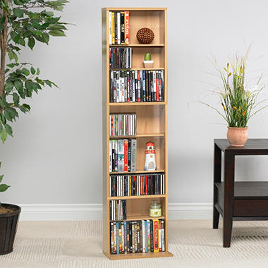 Atlantic Summit 261 CD Media Rack - Maple