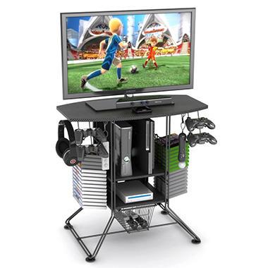 TV Stand / Gaming Hub - Carbon Fiber