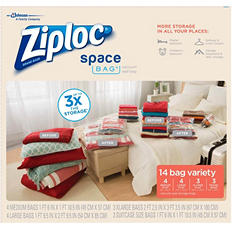 Ziploc Space Bags 14ct Combo