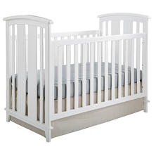 Kolcraft Elan 3-in-1 Convertible Crib, White