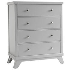 Sealy 4-Drawer Mid-Century Dresser, Gray