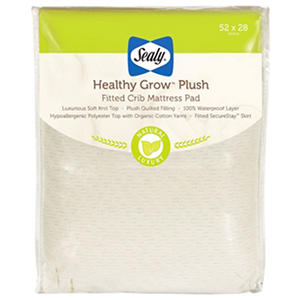 "Sealy Healthy Grow Plush Crib Mattress (52"" x 28"" x 8.5"")"