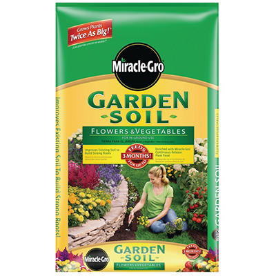 Miracle-Gro® Garden Soil for Flowers & Vegetables