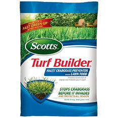 Scotts Turf Builder with Halts Crabgrass Preventer (covers 12,000 sq. ft.)