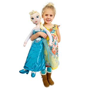 Disney Frozen Elsa Oversized Pillow Buddy & Blanket Set