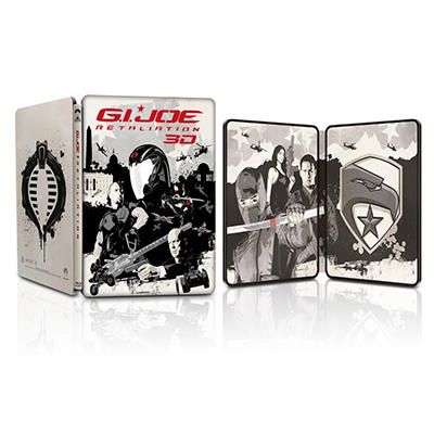 G.I. Joe: Retaliation (Limited Edition) (3D Blu-ray + Blu-ray + DVD + Digital Copy) (Steelbook Packaging) (Widescreen)