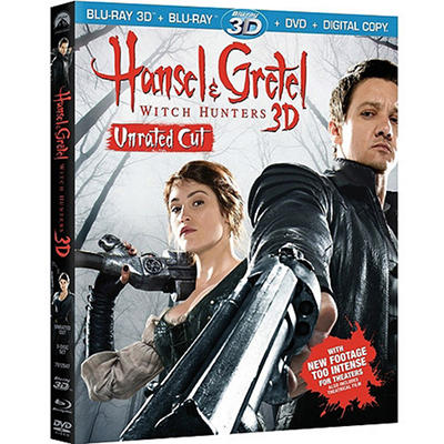 Hansel And Gretel: Witch Hunters (Unrated/Extended) (3D Blu-ray + Blu-ray + DVD + Digital Copy) (Widescreen)