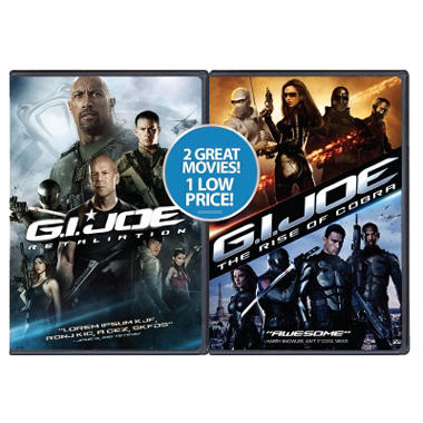 G.I. Joe: Retaliation / G.I. Joe: The Rise Of Cobra (2-Pack) (DVD) (Exclusive) (Widescreen)