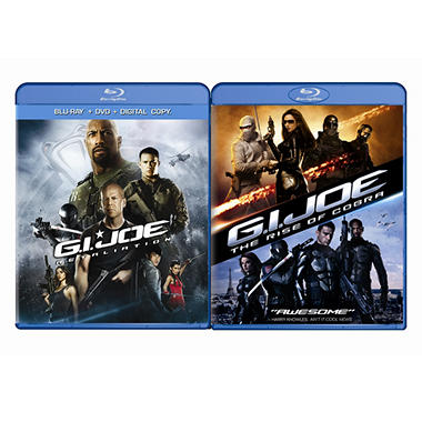 G.I. Joe: Retaliation / G.I. Joe: The Rise Of Cobra (Blu-ray) (Exclusive) (Widescreen)