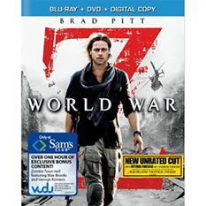 World War Z (Blu-ray + DVD + Digital Copy) (Bonus Content) (Widescreen)