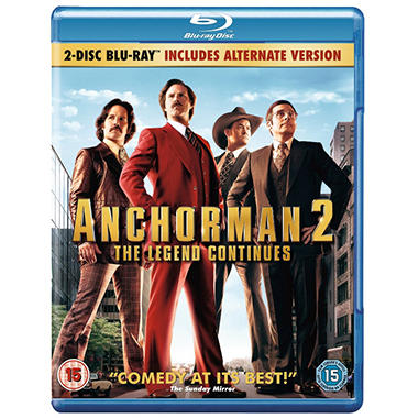 Anchorman 2: The Legend Continues (Blu-ray + DVD)