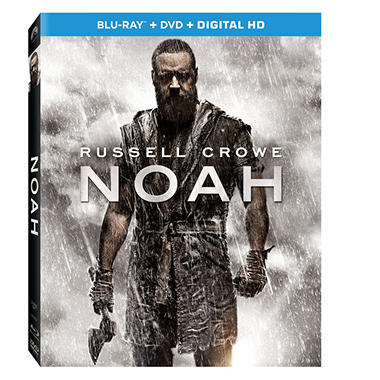 Noah Blu-Ray Combo Pack (DVD, Blu-Ray, Digital Copy)