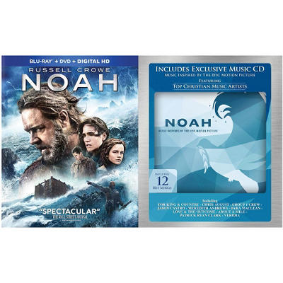 Noah Blu-Ray Combo + CD (Sam's Club Exclusive)