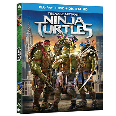 Teenage Mutant Ninja Turtles - Blu-Ray Combo Pack