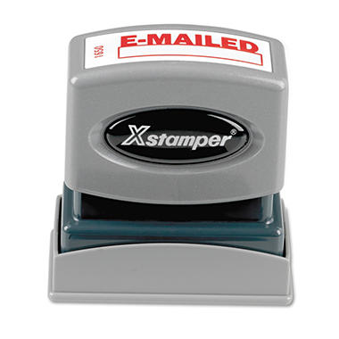 Shachihata Xstamper E-MAILED Window Title Stamp