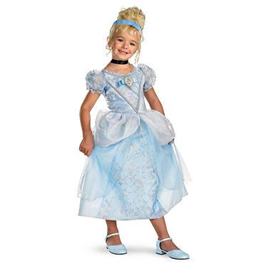 Cinderella Deluxe Child Costume - Size 4-6