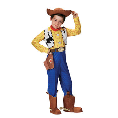 Woody Deluxe Child Costume - Size 3-4T